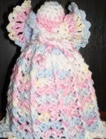 Air Freshener Crochet Angel Cover