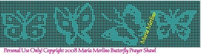 Butterfly Filet Crochet