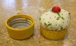 Miniature Cupcake Pin Cushion