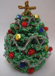Pine cone christmas tree for Holiday craft ideas with pine cones