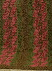 Bargello Throw