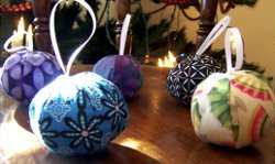 Fabric Ornament Balls