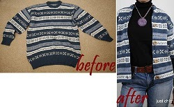 Sweater Makeover