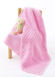One Skein Baby Blanket