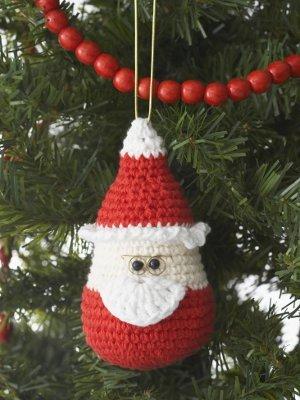 Santa Ornament Favecrafts Com