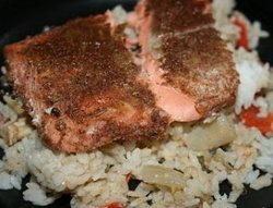 Slow Cooker Jamaican Salmon