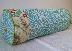 DIY Anthropologie Inspired Bolster Pillow