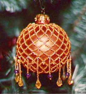 Cool Victorian Beaded Christmas Tree Ornament Allfreechristmascrafts Com Easy Diy Christmas Decorations Tissureus