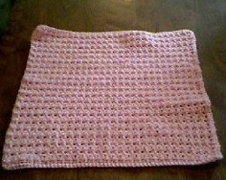 Thermal Stitch Preemie Afghan