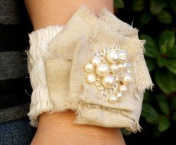 Romantic Ruffled Bracelet