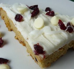 Top Secret Starbucks Cranberry Bliss Bars