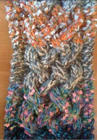 Celctic Cable Scarf
