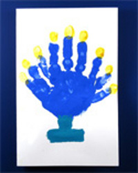 Holiday Handprint Cards