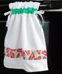 Stay Put Kitchen Towel Tutorial Allfreesewing Com