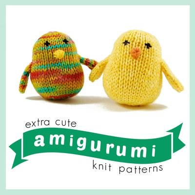 Adding Extra Stitches To My Knitting : 16 Extra Cute Amigurumi Knit Patterns AllFreeKnitting.com