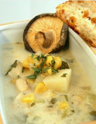 Slow Cooker Corn And Fish Chowder