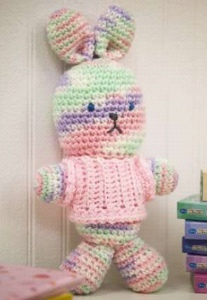 Crocheted Bunny Toy