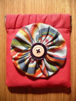 Flexi Fabric Stash Coin Purse Tutorial