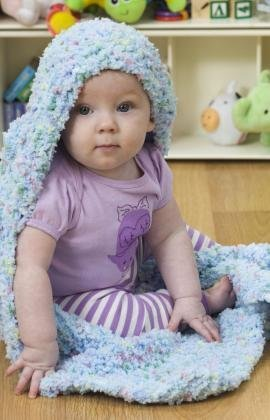 Cuddly Hooded Baby Blanket