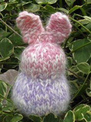 Knitted Easter Rabbit