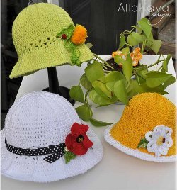 Lacy Garden Party Hat