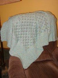 Easy Crochet Baby Blanket Bulky Yarn