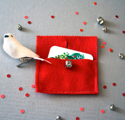 Jingle Bell Gift Card Holder