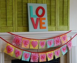 Valentines Day Bunting