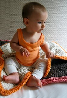 Bulky Baby Blanket Allfreeknitting Com
