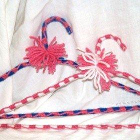 Yarn Covered Coat Hangers Allfreeknitting Com