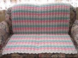 Baby's First Crocheted Blanket