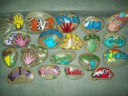 Painted Rock Garden