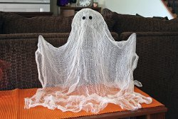 Cheesecloth Floating Ghost