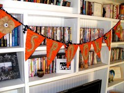 No-Sew Spooky Halloween Bunting