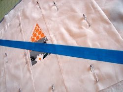 Tips for Straight Line Quilting with Painters Tape