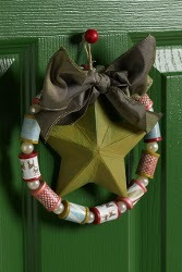 Spool Wreath