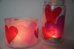 Hearts All Around Votives