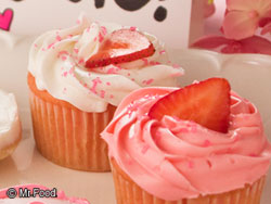 Strawberry Patch Cupcakes