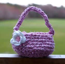 Mini Fabric Easter Basket