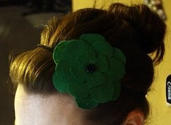 Dollar Store St. Patty's Headband