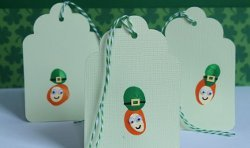 Thumbprint Leprechaun Bookmark