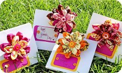 Two-In-One Corsage and Card