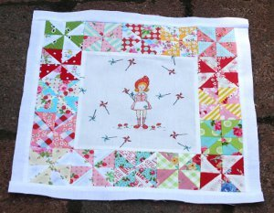 Adorable Pinwheel Quilt
