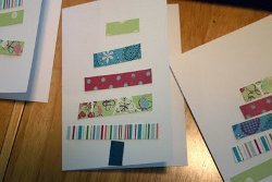 Paper Scrap Christmas Cards