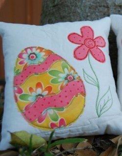 Easter Egg Dryer Sheet Applique Favequilts Com