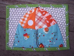 April Showers Mug Rug