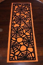 Cool Spider Web Table Runner
