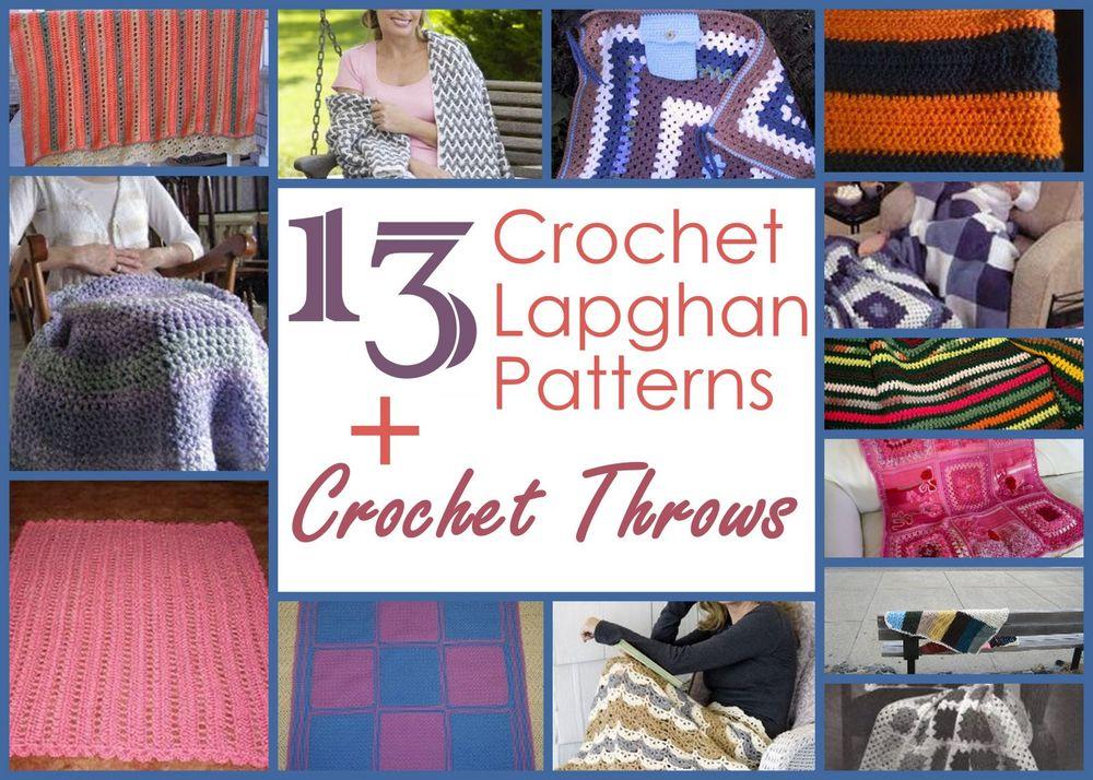 13 Crochet Lapghan Patterns Allfreecrochetafghanpatterns Com