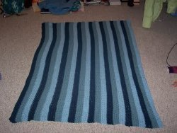 Blue Boyfriend Blanket