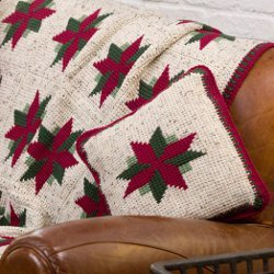 Christmas Throw and Pillow